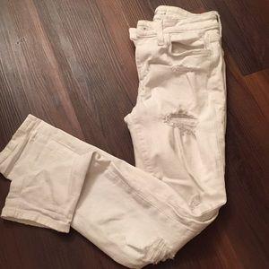 Joe's Skinny Ripped Jeans